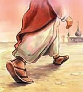 sandals feet